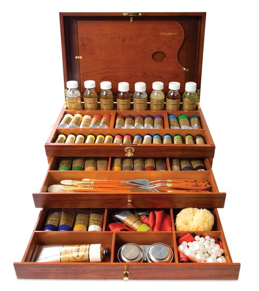 I really want this beauty!! Charvin Extra Fine and Fine Oil Paint Sets - JerrysArtarama.com:
