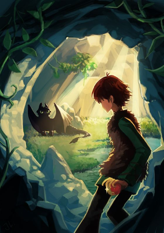 How to train your dragon hiccup and toothless fanfiction galleryhip