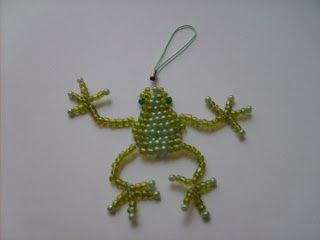 Free Beaded Doll Patterns | My latest obsession seems to be making these beaded critters as they ...