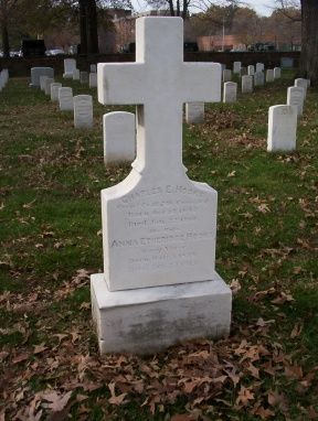 """Anna Etheridge """"Annie"""" Blair Hooks - Annie Etheridge Hooks, also known as """"Gentle Annie"""" was an army nurse during the Civil War. She was at the Battle of First Bull Run, Fredericksburg, Chancellorsville and a number of other major battles. Annie was awarded the Kearny Cross for bravery."""