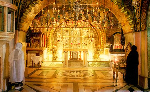 Church of the Holy Sepulchre, Holy Land