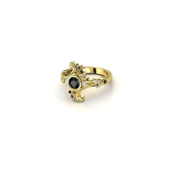Hufflepuff ❤ liked on Polyvore featuring jewelry, rings, harry potter and hufflepuff