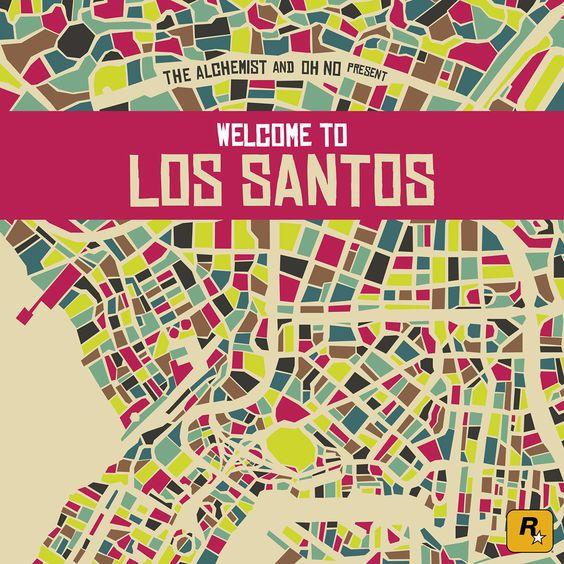 THE ALCHEMIST UND OH NO PRESENT – WELCOME TO LOS SANTOS | FULL ALBUM STREAM
