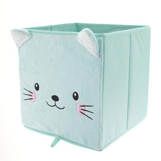 Mainstays Collapsible Storage Bin Mint Cat With Images Collapsible Storage Bins Storage Bins Storage