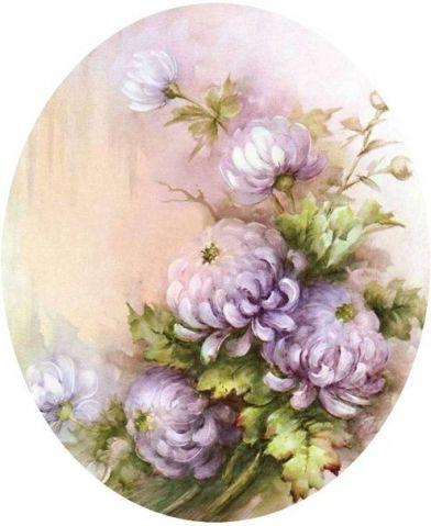 Цветочная нежность в картинах Sonie Ames... / Декупаж / Картинки для декупажа: