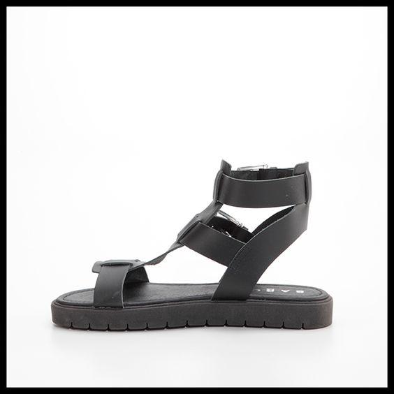 Sandalo BARCA flatform nero