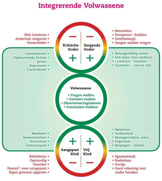 Transactionele Analyse: volwassene, ouder & kind. (afbeelding: https://traininginbedrijf.nl/):