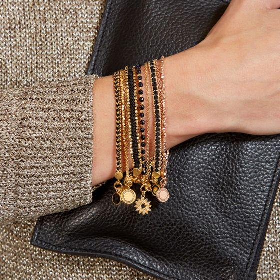 Nothing beats a cashmere jumper and an autumn bracelet stack. #astleyclarke #bracelets #autumn #style