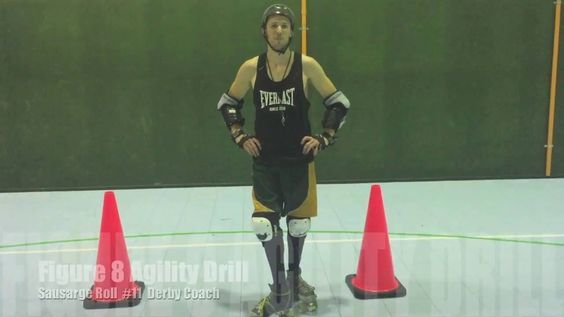 ROLLER DERBY EDGES - The best way to practice EDGES