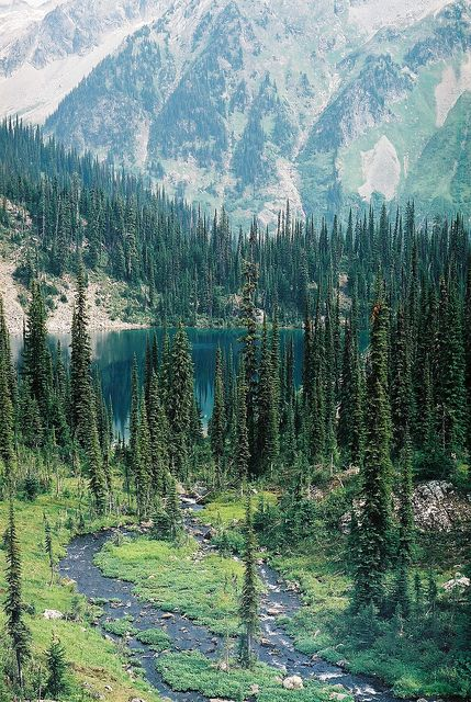 Lower Jade Lake, Revelstoke National Park, BC
