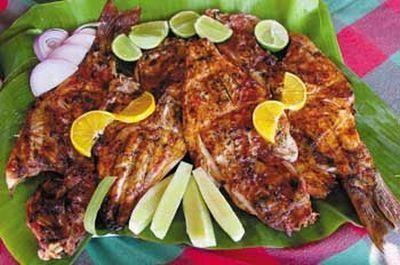 pescado sarandeado estilo Nayarit
