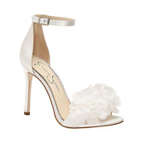 Jessica Simpson Jeena Heeled Sandal Bride Shoes Bridal Shoes