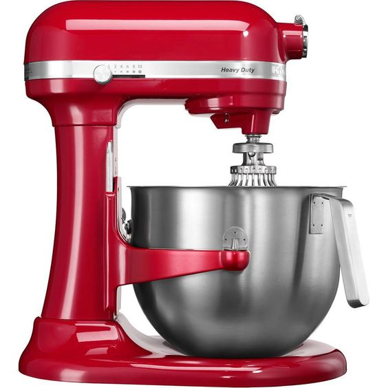 Batedeira Profissional Kitchenaid Stand Mixer 10 Velocidades 575W Vermelha KEC50AVPNA -Eletroportáteis - Batedeira - Walmart.com