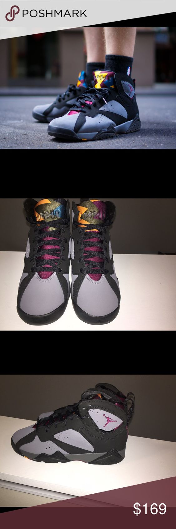 Brand New Air Jordan Retro 7 BG Bordeaux Brand New 100% Authentic Jordan Bordeaux. Sz 5 Y/ 6.5 women's. Box is missing lid. Please only submit offers via the offer button only . Low ballers will be ignored. No trades. Jordan Shoes Sneakers