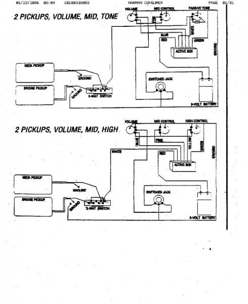 Jackson Guitar Wiring Diagram from i.pinimg.com