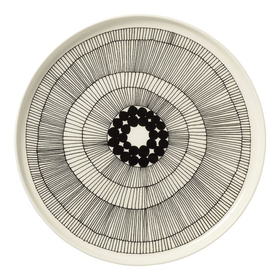 love these Marimekko plates from Crate & Barrel.