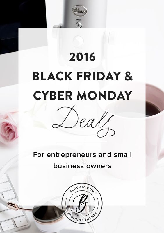 we have rounded up some of the best Black Friday/Cyber Monday deals for all of your entrepreneurs and small business owners out there! From WordPress themes, to stock photography, to info products to help you build a better business, we've got it all!