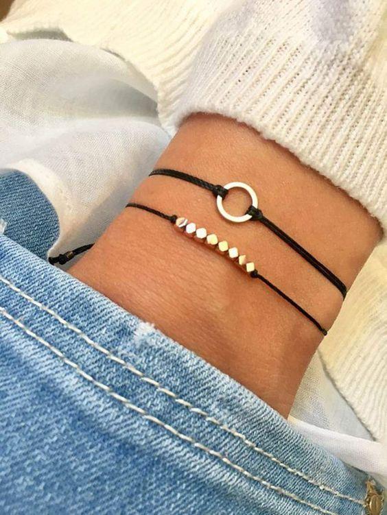 Bracelet Bracelet Jewelry Accessories Bracelet Diy Hand Rope Beaded Bracelet Bracelet Boho Pura Vida B Beaded Bracelets Detailed Bracelet Wish Bracelets