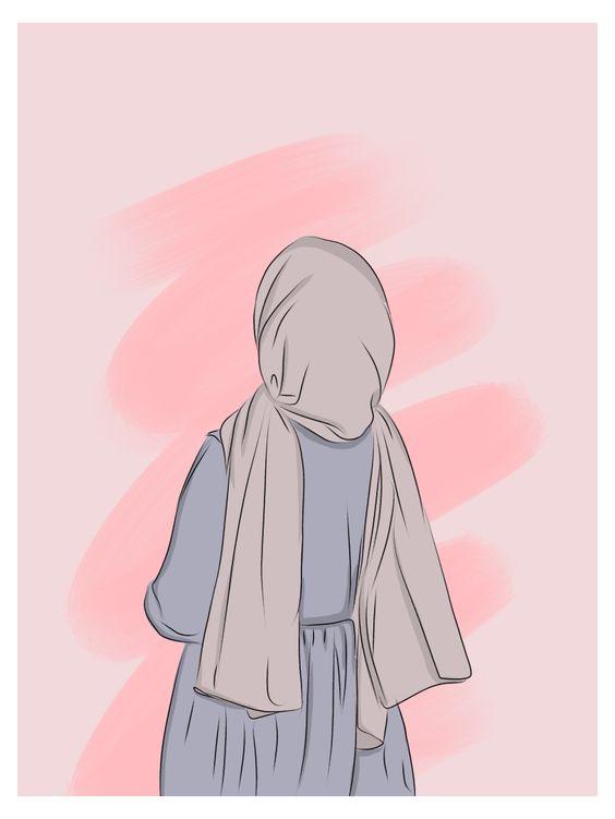 Kumpulan Gambar Kartun Muslimah 25