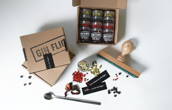 Projekt: Gin Flight - Gewürze für Gin Tonic | QOOP · Design & Kommunikation