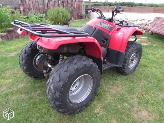 Quad yamaha 450 kodiak