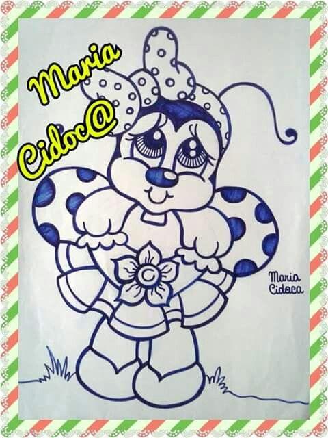 .desenho da Maria Cidoca.  Retirado da net