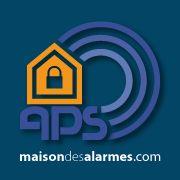 Logo officiel - APS Maison des Alarmes & de la Vidéosurveillance - maisondesalarmes.com