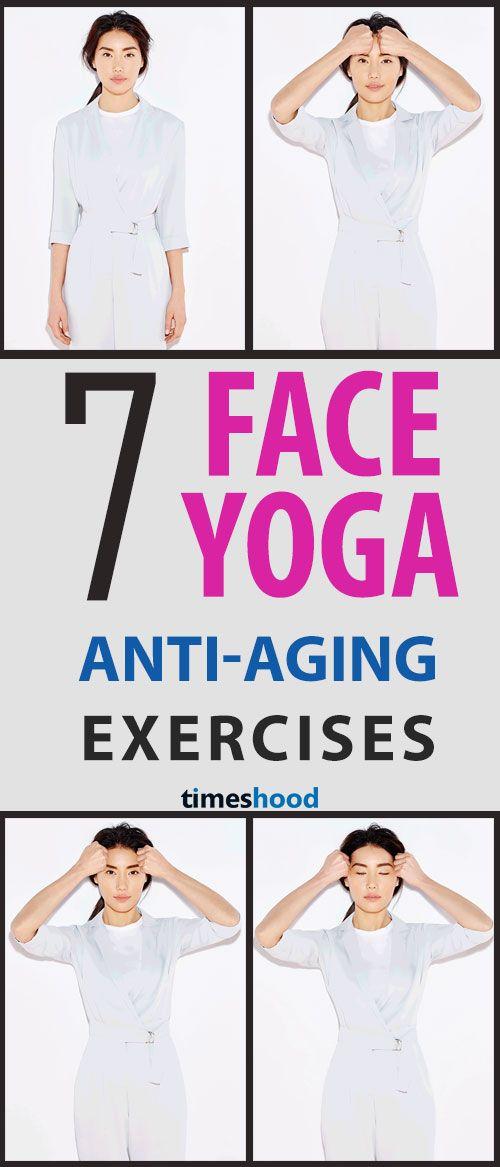 Face yoga exercises for wrinkles