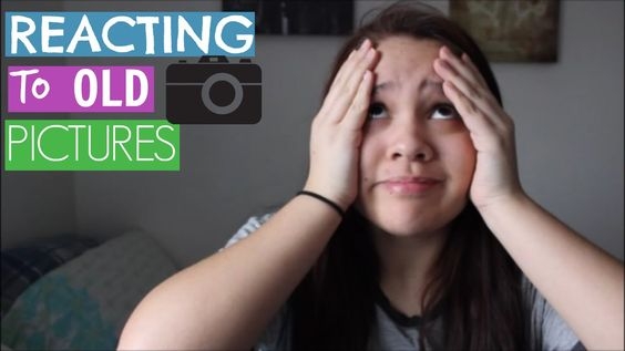 REACTING TO OLD PHOTOS 2016