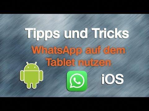 So Kriegt Ihr Whatsapp Und Whatsapp Web Aufs Tablet Youtube Tablet Android Tablets Technology