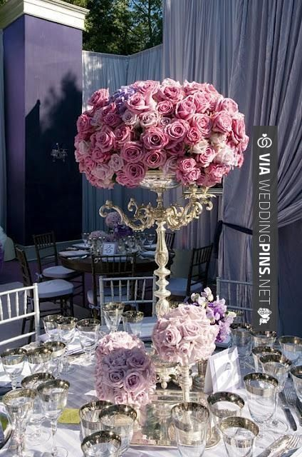 Love this - Wow, if I were able to spend lots on flowers at my wedding this bundle of roses would definitely be on the list! | CHECK OUT MORE FANTASTIC PICS OF GREAT Centros de Mesa Para Boda HERE AT WEDDINGPINS.NET | #CentrosdeMesaParaBoda #CentrosdeMesa #boda #weddings #centerpieces #weddingcenterpiece #vows #tradition #nontraditional #events #forweddings #iloveweddings #romance #beauty #planners #fashion #weddingphotos #weddingpictures