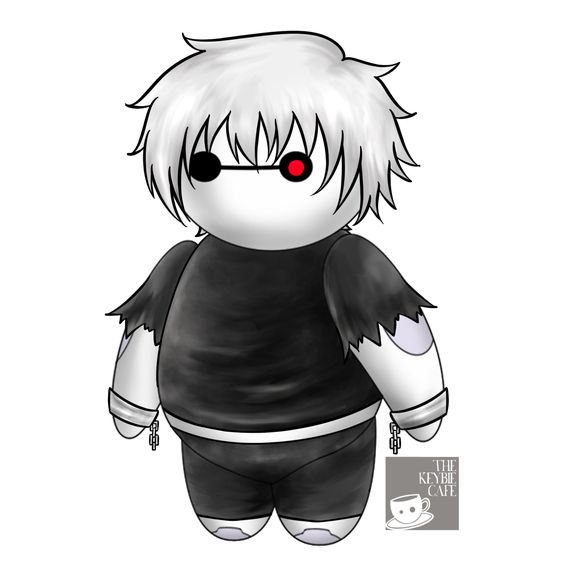 #CosplayerBaymax: Baymax Reimagined as Popular Anime Characters - Kaneki Ken
