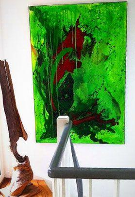abstrakte bilder kaufen grosse formate als auftragsmalerei oder im shop grunes bild abstraktes gemalde abstrakt malerei frau gemälde gold