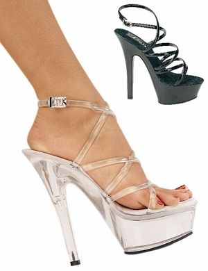 "6"" Spike * KISS-206 by Pleaser, $41.99 - Sexy Shoes, High Heels ..."