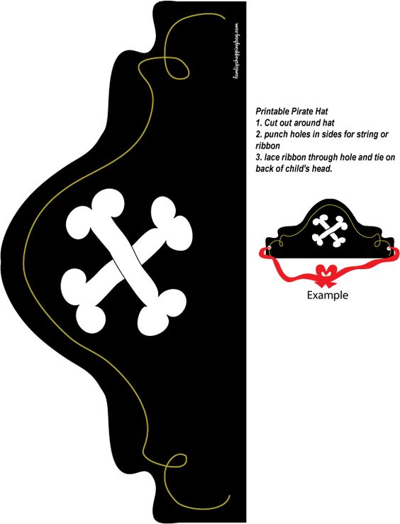 Pirate Hat Srver Pinterest Party Favors Pirates And