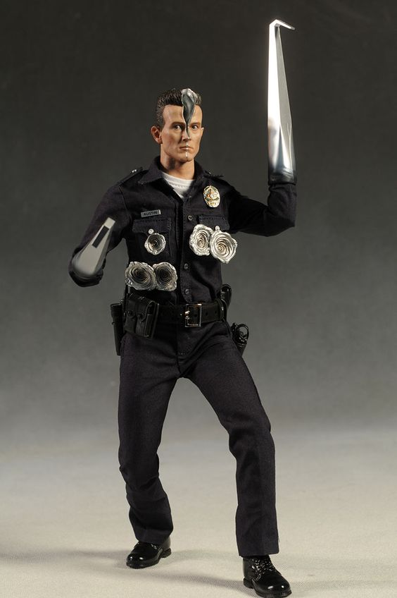 T-1000 Terminator sixth scale action figure from Hot Toys