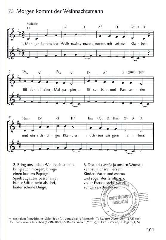 Weihnachtslieder Fur Kinder Im Stretta Noten Shop Kaufen Weihnachtslieder Fur Kinder Weihnachtslieder Texte Weihnachtslieder
