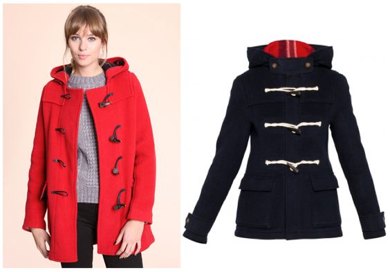 Lovely coats for this chilly Portland winter.