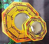 Sanjay's Feng Shui world: POWERFUL FENG SHUI CURE- BAGUA (PAKUA) MIRROR