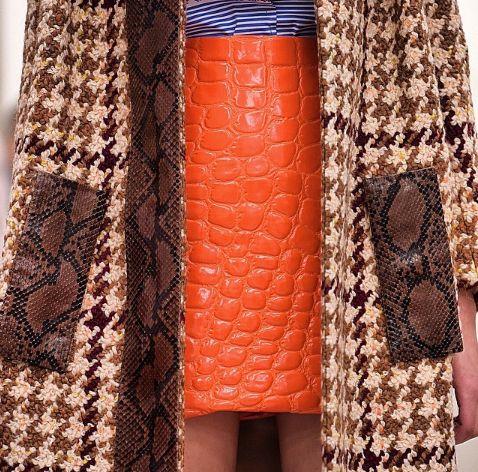 Details at the Miu Miu fall\winter 2015 womenswear show
