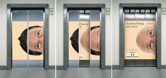 15+ φωτογραφίες από απίστευτες διαφημίσεις μέσα σε ασανσέρ, που θα τρίβεις τα μάτια σου