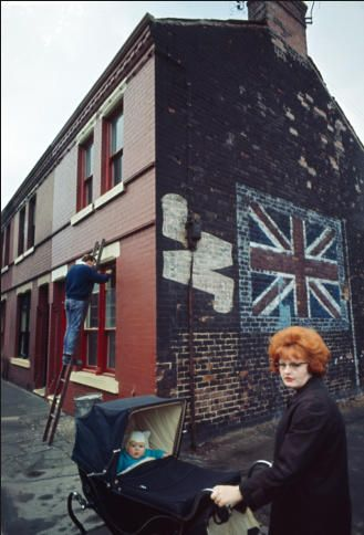 EDITOR'S PIC OF THE DAY  Photo: JOHN BULMER Liverpool. The North.  If this was taken in Reading, I would swear this is my mum!!