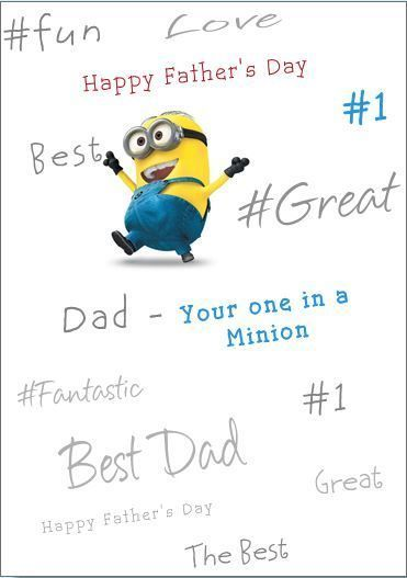 happy fathers day minion video
