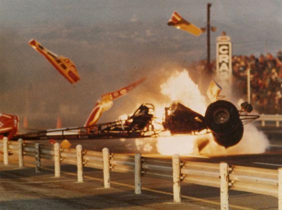 T.V. Tommy's big crash.