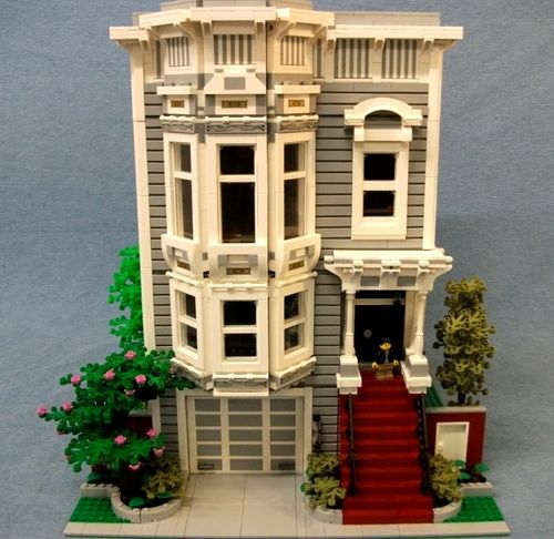 Full House Victorian A Lego Creation By Boise Bro