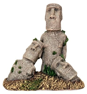 Easter island statue 5647 aquarium ornament fish tank for Moai fish tank