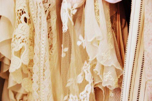 lacy vintage<3        lace = addiction for me.