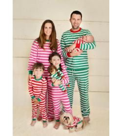 Adult Holiday Pajamas Christmas pajamas Red and by AshersAttic ...