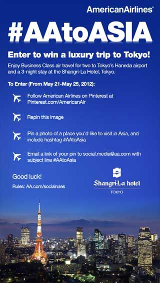 Win A Trip To Asia With American Airlines