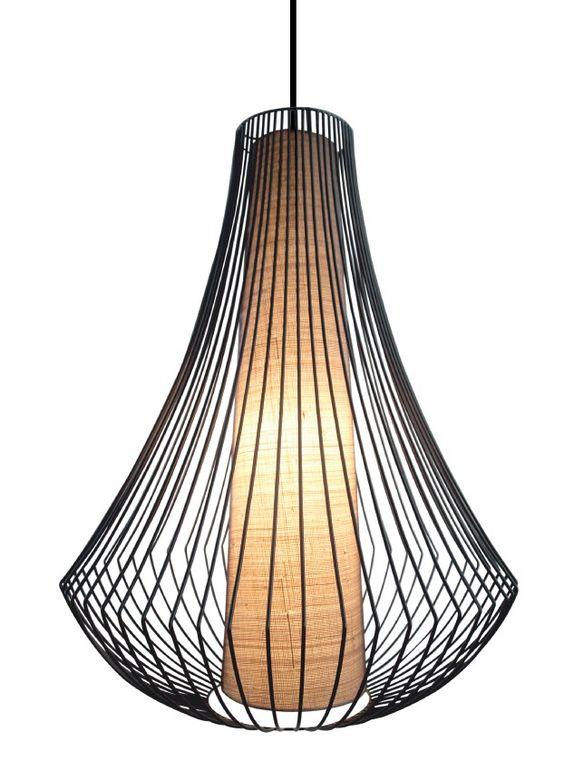 Garlic Hanging Lamp Long | I.O. Metro - I.O. Metro Furniture, Art & Accessories
